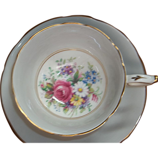 Vintage Paragon Tea Cup & Saucer - Floral Sprays