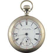 1800's Louis Hahn New London 56mm Case Pocket Watch