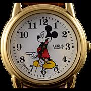 26mm Lorus Quartz Mickey Mouse Women's Watch