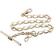 Gold Filled Pocket Watch Fob Chain  11.5""