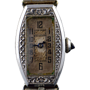 Vintage Bulova 32x16mm Art Deco Mechanical Women's Watch