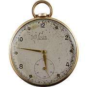 Elgin 1941 43mm Vintage  17 Jewel 10s Grade 542 Pocket Watch