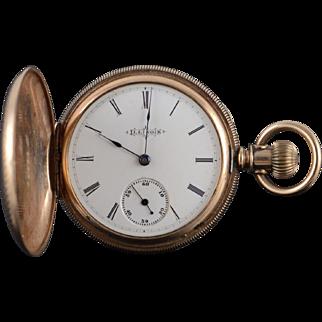 Illinois 1890 40mm Hunter Case 7 Jewel 6s Pocket Watch