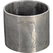 Base Metal Worn World's Columbian Exposition Napkin Ring    [QPQQ]