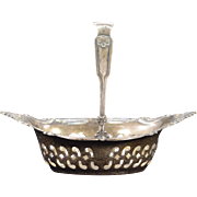 Sterling Silver Intricate Small Basket