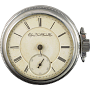 Elgin 1883 54mm case 11 Jewel 16s Pocket Watch