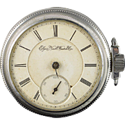 Elgin 1883 54mm case 11 Jewel 16s Pocket Watch [QWXQ]