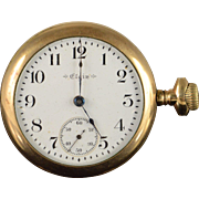 Elgin 1900 54mm Case 7 Jewel 18s Grade 207 Pocket Watch