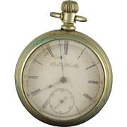 Elgin 1894 55mm Case 7 Jewel 18s Grade 73 Pocket Watch