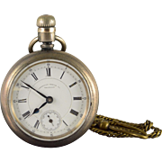 Waltham 1885 58mm Case 15 Jewel 18s Grade Appleton Tracy Pocket Watch [QWXQ]