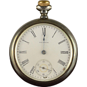 Waltham 1903 50mm Case 15 Jewel 16s Grade 618 Pocket Watch