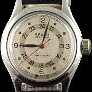 30mm Gruen Veri-Thin Precision Wrist Men's Watch