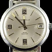 35mm Caravelle Vintage Mechanical Wrist Men's Watch