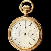 Elgin 1887 40mm Hunter Case 11 Jewel 8s Grade 94 Pocket Watch