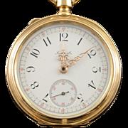 Le Coultre & Co. Chronometer Missing Parts 50mm Case Pocket Watch
