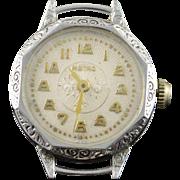 Vintage Metro 26mm Wrist Women's Watch