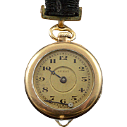 Vintage Genot 25mm Case Swiss Pin Pocket Watch