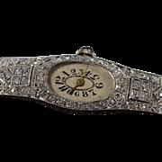 Vintage 1.25 Ctw Old Mine Cut Diamond Filigree