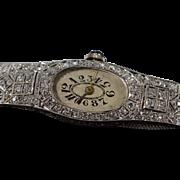 Art Deco 1.25 Ctw Old Mine Cut Diamond Filigree