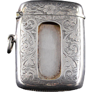Sterling Silver Charles S Green & Co Match Safe