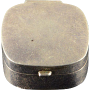 925 Sterling Silver Simple Box