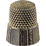Sterling Silver #9 Thimble