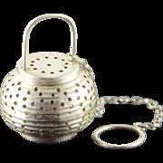 Sterling Silver Webster Tea Strainer