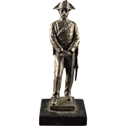 800Sterling Silver German Silver Figurine    [QPQX]