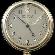 """Mansfield Paramount 50mm Case """"Dollar Watch"""" Vintage  Pocket Watch"""