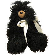 "OOAK 17"" Adorable Black Artist Teddy Bear ""CHER"" artist Kathy Bindert"