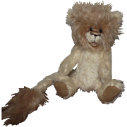 "OOAK Adorable Mohair ""Roary "" The Lion Artist Daphne Blair"