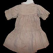 """Beautiful 12"""" Antique Dress For Kestner 129"""