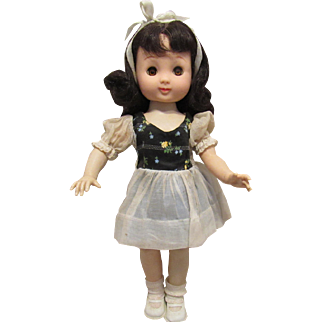 """Wonderful Vintage 14"""" """"Betsy McCall Doll"""" By Ideal In Original Outfit Circa 1951"""