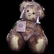 """Sweetest Purple Mohair Jointed 10"""" Teddy Bear """"Willa Mina"""" Artist Bear"""