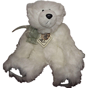 "Lovable Plush Teddy Bear ""Echo's Cub"" 12"" Treadle Bears Of Vermont Artist Barbara Mclean"