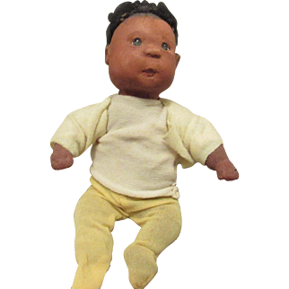 "Wonderful 5"" Dianne Dengel Cloth Character Baby"