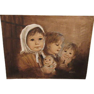 Beautiful Dianne Dengel Painting On Canvas