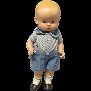 "Vintage All Composition Effanbee ""Skippy Doll"" 14"" Circa 1928"