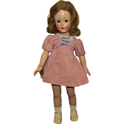 """Gorgeous Vintage Effanbee Large 20"""" """"Anne Shirley Doll"""" Circa 1935"""