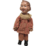 "Vintage Ideal Fannie Brice ""Baby Snooks"" In Original Outfit 13"" Circa 1938"