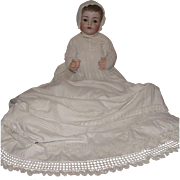 Outstanding Large Size German Bisque Character Baby Doll