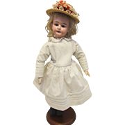 """Beautiful German Bisque Child On Composition Body 14"""""""