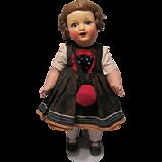 """Antique Heubach Koppelsdorf Bisque Doll Mold # 342 18"""" Circa 1920"""