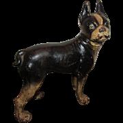 Wonderful Antique Hubley Cast Iron Boston Terrier