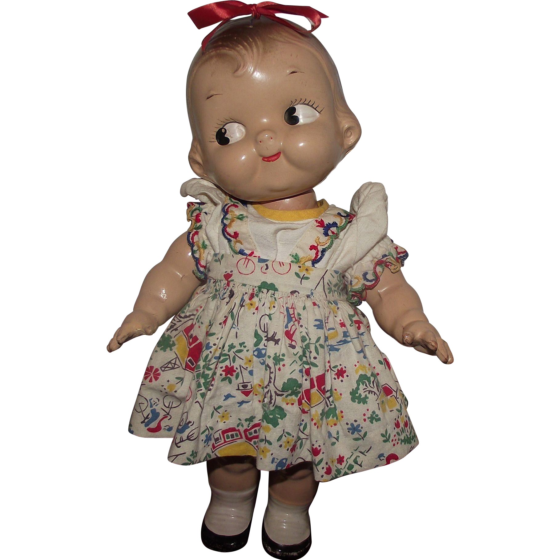 Vintage Composition Horsman Campbell Kid Doll 12 Quot Circa