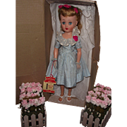 "Vintage Beautiful Sears ""Happi * Time Doll"" In Original Box With Original Wrist Tag"