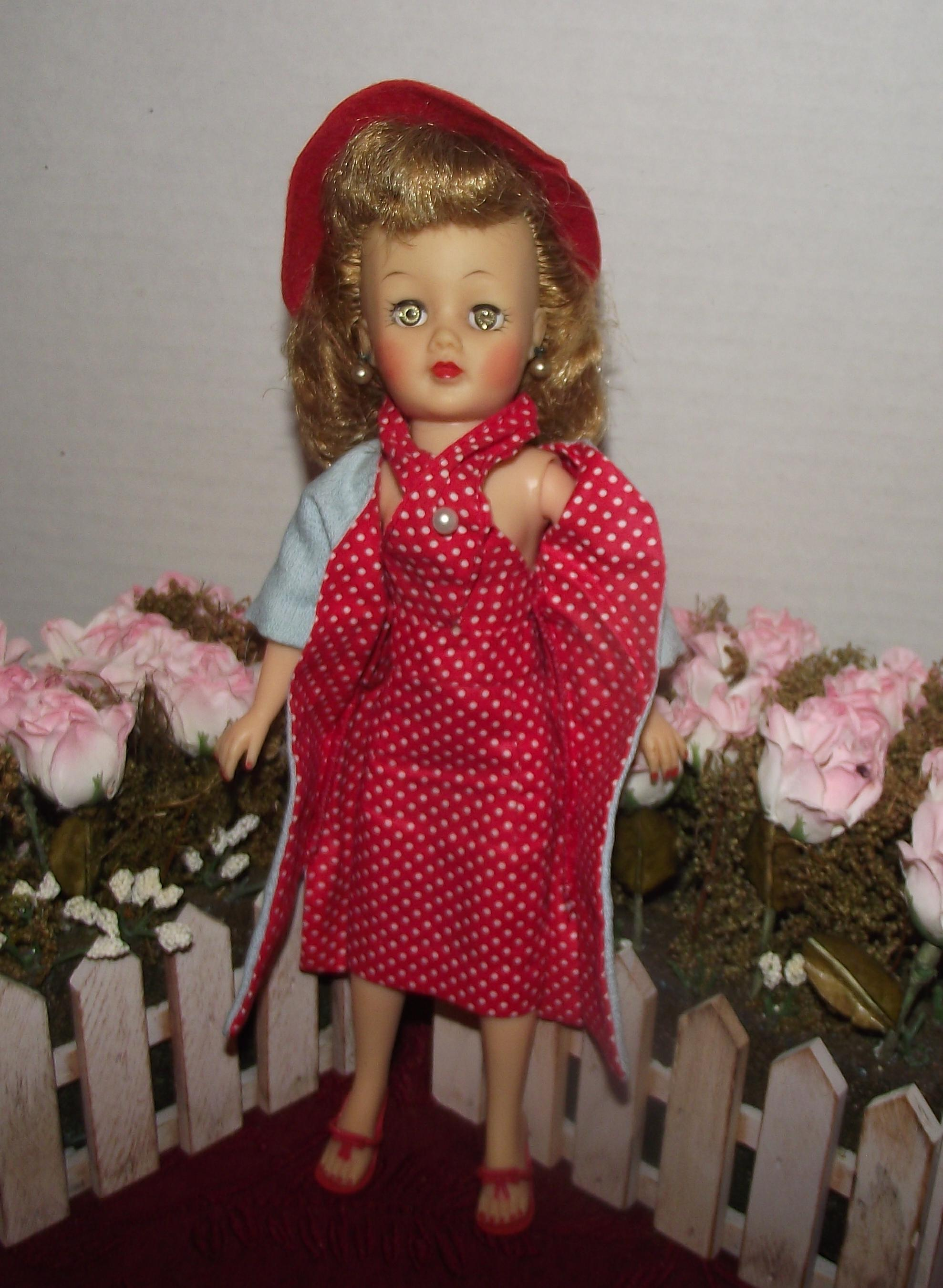 Vintage Little Miss Revlon Doll In Original Tagged Outfit Circa ...