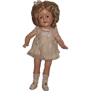 """Vintage Ideal Stunning NM Condition 15"""" Shirley Temple Doll"""" ALL ORIGINAL and STUNNING!"""