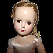 """Gorgeous Vintage Madame Alexander """"NINA BALLERINA"""" Original Tag Ballerina Outfit 18"""" Circa 1949"""