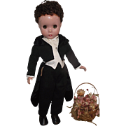 "Handsome Vintage Madame Alexander Groom Doll In Original tagged tuxedo 14"" Circa 1949"